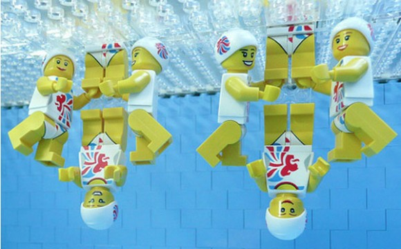 LEGO Olympics ต้อนรับโอลิมปิกเกม 2012