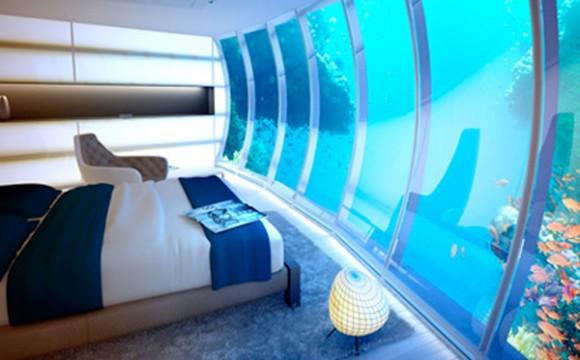 ผ่อนคลายกับโรงแรมใต้น้ำที่ดูไบ