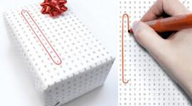 ห่อของขวัญด้วย Wordless Wrap เรียบง่ายแต่สื่อ