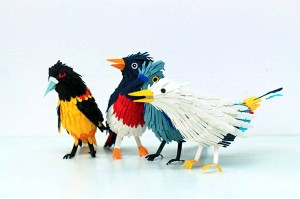 Colorful Paper Birds