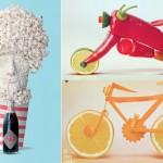 Funny Food Sculptures