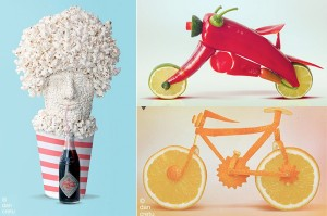 Funny Food Sculptures
