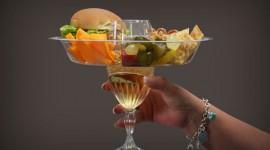 ถาดใส่อาหารพร้อมเครื่องดื่ม Go Plate