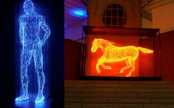 ศิลปะภาพ 3 มิติเรืองแสง