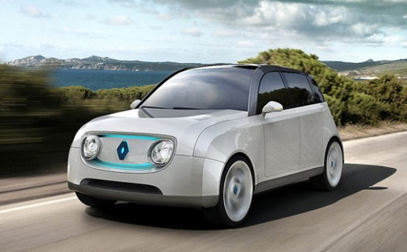 รถยนตร์ไฟฟ้าจากพลังงานแสงอาทิตย์หมุนเวียน