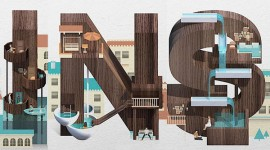 ออกแบบตัวอักษรสวยๆ สไตล์ Resort Type