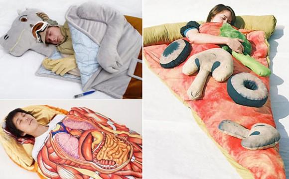 ถุงนอนแปลกๆ สุดสร้างสรรค์