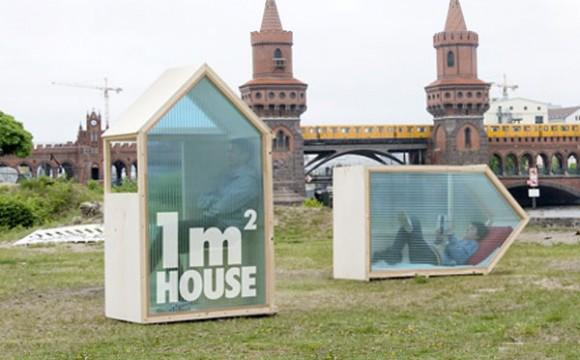 บ้านที่เล็กที่สุดในโลกแค่ 1 ตารางเมตร