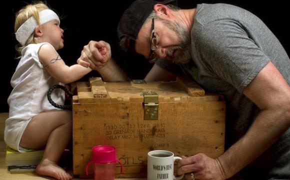 ภาพตลกน่ารักๆ ชุด World's Best Father