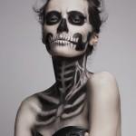 Skeleton Makeup 1