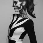 Skeleton Makeup 4