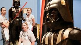 Darth Vader เค้กจากเรื่อง Star Wars