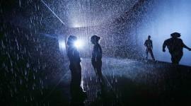 Rain Room สัมผัสบรรยากาศฝนตกแบบตัวไม่เปียก