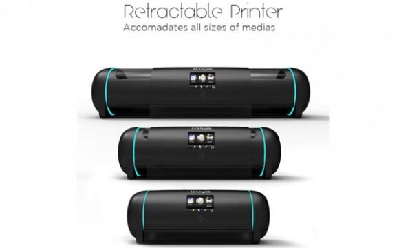 ปริ้นงานได้ทุกขนาดกับ Retractable Printer
