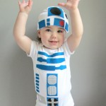 Star Wars R2-D2 Baby Costume 2