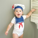 Stay Puft Marshmallow Man Baby Costume