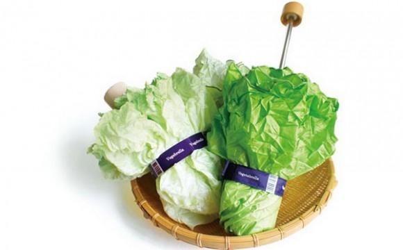 ร่มผักกาด ร่มแฮนด์เมดมีสไตล์จากญี่ปุ่น
