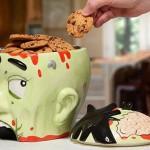 Zombie Head Cookie Jar