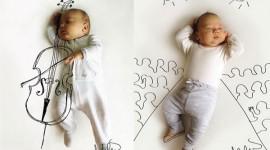 ภาพเด็กทารกกับจินตนาการสุดบรรเจิด