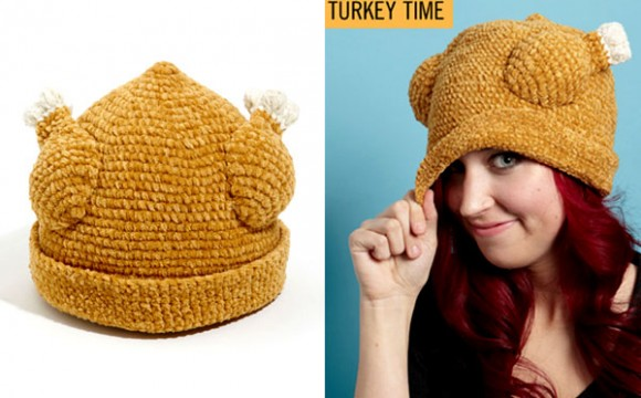 แฟชั่นหมวกไก่งวงย่างอวบๆ ชวนลิ้มลอง