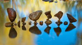 ศิลปะการเรียงหินแบบสมดุลธรรมชาติ