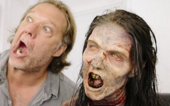 เบื้องหลังการถ่ายทำ The Walking Dead