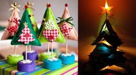 สร้างต้นคริสต์มาส 15 แบบง่ายๆ อย่างสร้างสรรค์