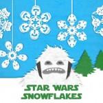 DIY StarWars Snowflakes