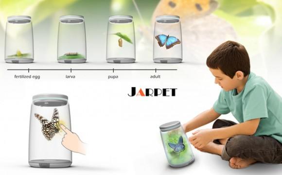 ของเล่นเด็ก Jarpet เรียนรู้ชีวิตสัตว์ 3 มิติ