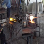 Glass casting from borosilicate