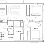 Floor plan / level 3