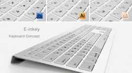 E-inkey แนวคิดคีย์บอร์ดเปลี่ยนคีย์ลัดตามโปรแกรม