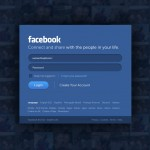 facebook splash screen / login