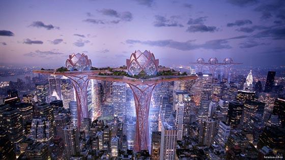 แนวคิดอนาคตเมืองในฝัน City in the Sky