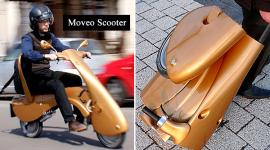 Moveo Scooter ขับเคลื่อนพลังไฟฟ้าแบบพกพา
