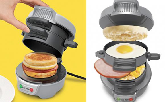 ทำอาหารเช้าง่ายๆ ด้วยเครื่องทำแซนวิสแบบ 3 in 1