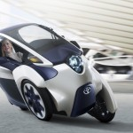 i-Road electric personal mobility vehicle