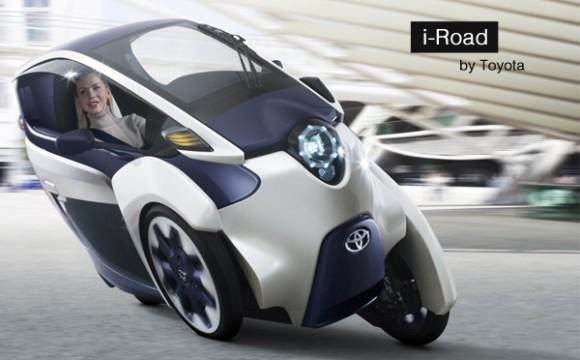 Toyota เปิดตัวรถสามล้อไฟฟ้า i-Road