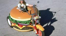มอเตอร์ไซค์แฮมเบอร์เกอร์จาก Harley Davidson