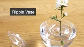 แจกันดอกไม้ Ripple Vase แจกันใส
