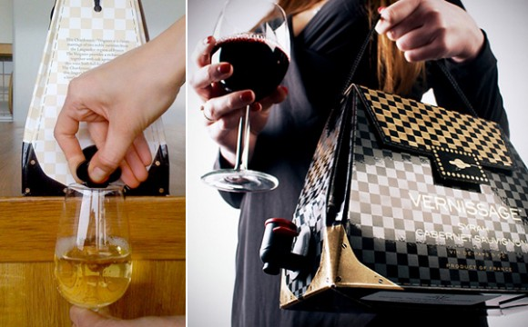 กระเป๋าไวน์ กระเป๋าแฟชั่นพร้อมดื่ม