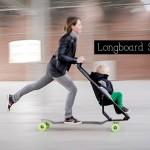 Longboard Stroller 1