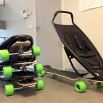 Longboard Stroller 2