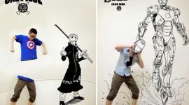 ภาพวาดการ์ตูนวันพีชและอื่นๆ แนว Interactive