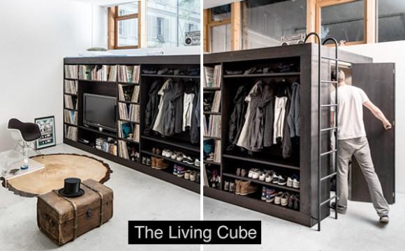 เฟอร์นิเจอร์คอนโด The Living Cube