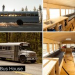 School Bus House 1