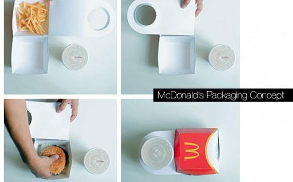 McDonald แพคเกจแนวคิดใหม่
