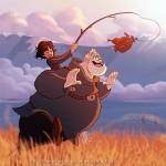 Bram and Hodor