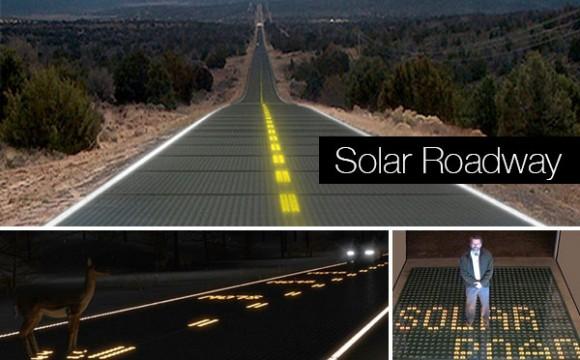 ถนน Solar Roadway