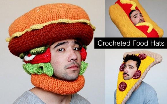 หมวกอาหารแบบไหมพรม